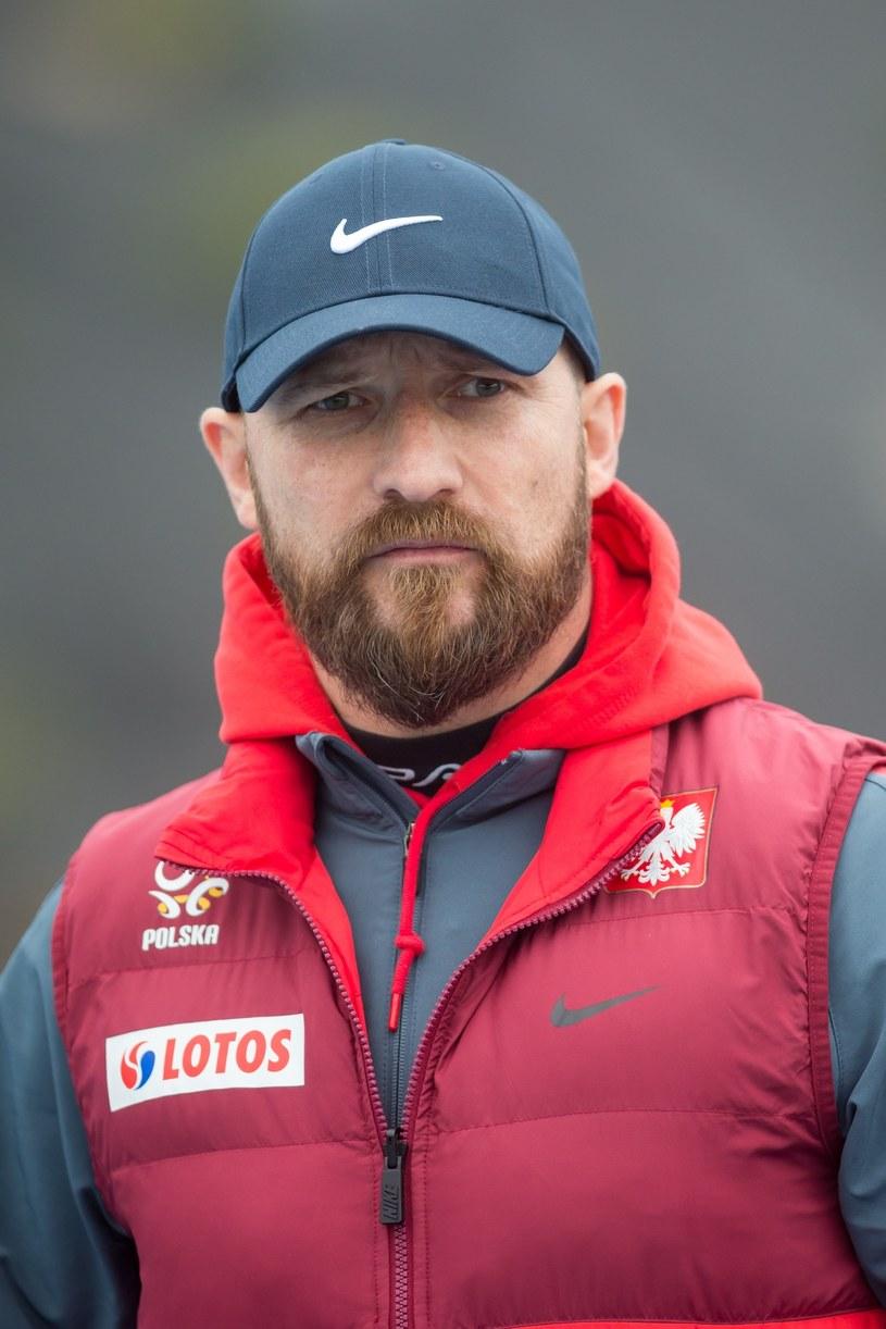 Maciej Stolarczyk, trener kadry U-20 /Przemysław Szyszka /East News