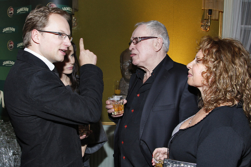 Maciej Stuhr, Jan Nowicki, Małgorzata Potocka /Baranowski /AKPA