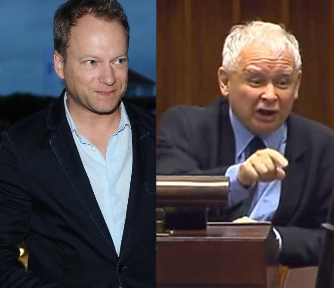 Maciej Stuhr nie pała sympatią do KAczyńskiego (MWMedia;EastNews) /MWMedia