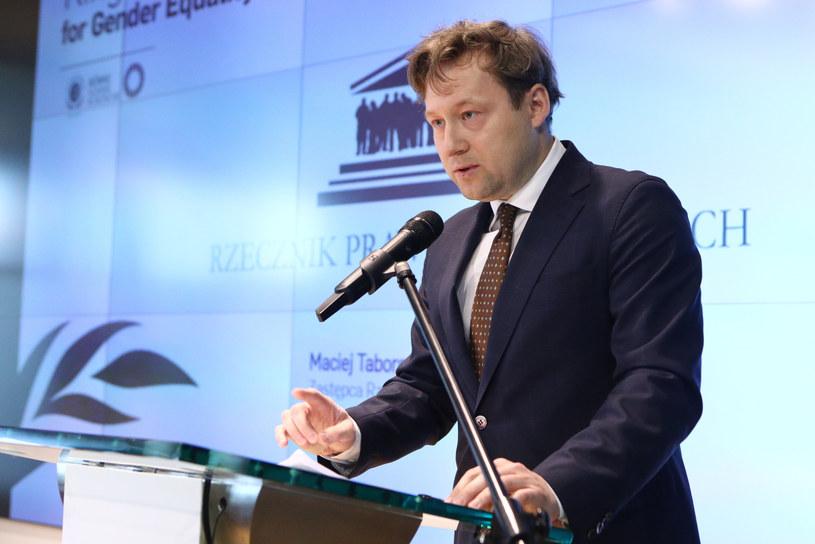 Maciej Taborowski jest zastępcą Rzecznika Praw Obywatelskich /Tomasz Jastrzębowski /Reporter