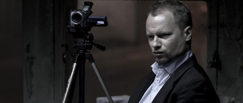 """Maciej Wiktor na planie filmu Wojciecha Smarzowskiego """"Drogówka"""" /Krzysztof Wiktor /Agencja FORUM"""