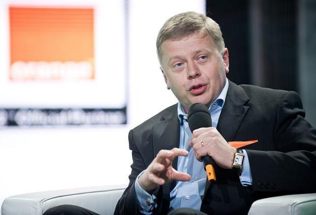 Maciej Witucki, prezes Orange Polska. Fot. BARTOSZ KRUPA /East News