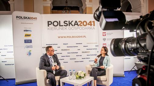 Maciej Wyszoczarski, dyrektor Pionu Sieci i Operacji PKO BP