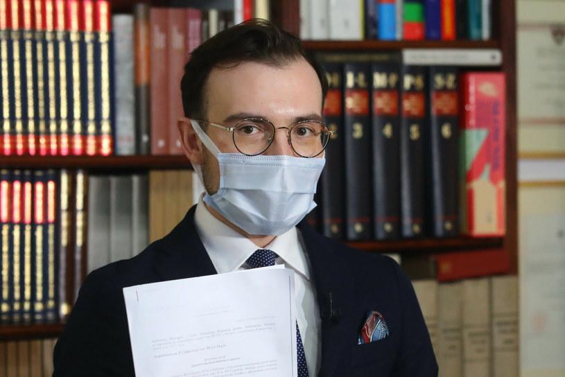 Maciej Zaborowski - prawnik prezesa Orlenu Daniela Obajtka. /Tomasz Jastrzębowski /Reporter