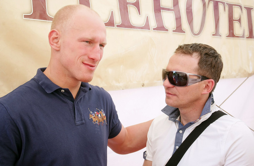 Maciej Zegan (z prawej) I Krzysztof Włodarczyk /Sebastian Kuczyński /East News