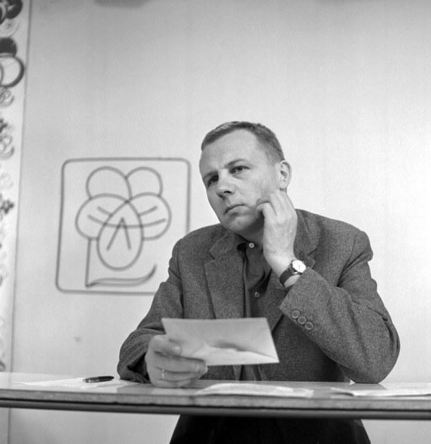 Maciej Zimiński, fot. z 1978 roku. /TVP/PAP /PAP