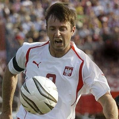 Maciej Żurawski i koledzy czekają na futbolowy hymn /arch. AFP
