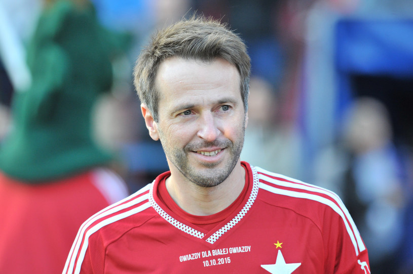 Maciej Żurawski strzelił gola na Ibrox /Michał Klag /East News