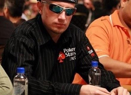 Maciek Horecki na turnieju pokerowym. FOt.: marcinhorecki.org /Internet