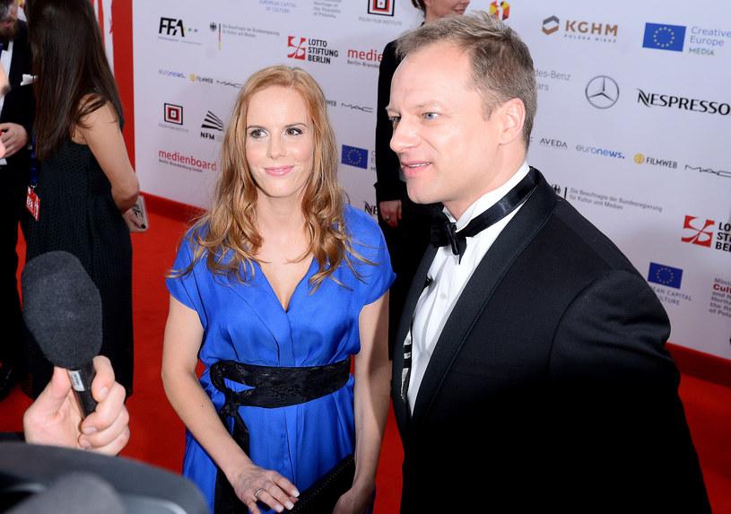 Maciek z żoną /- /ONS