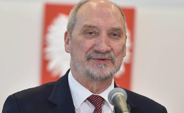 Macierewicz: O dymisji dowiedziałem się od szefa gabinetu prezydenta