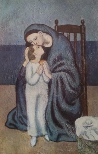 """""""Macierzynstwo"""", Pablo Picasso /Muzeum Sztuki Nowoczesnej Miasta Paryża /"""