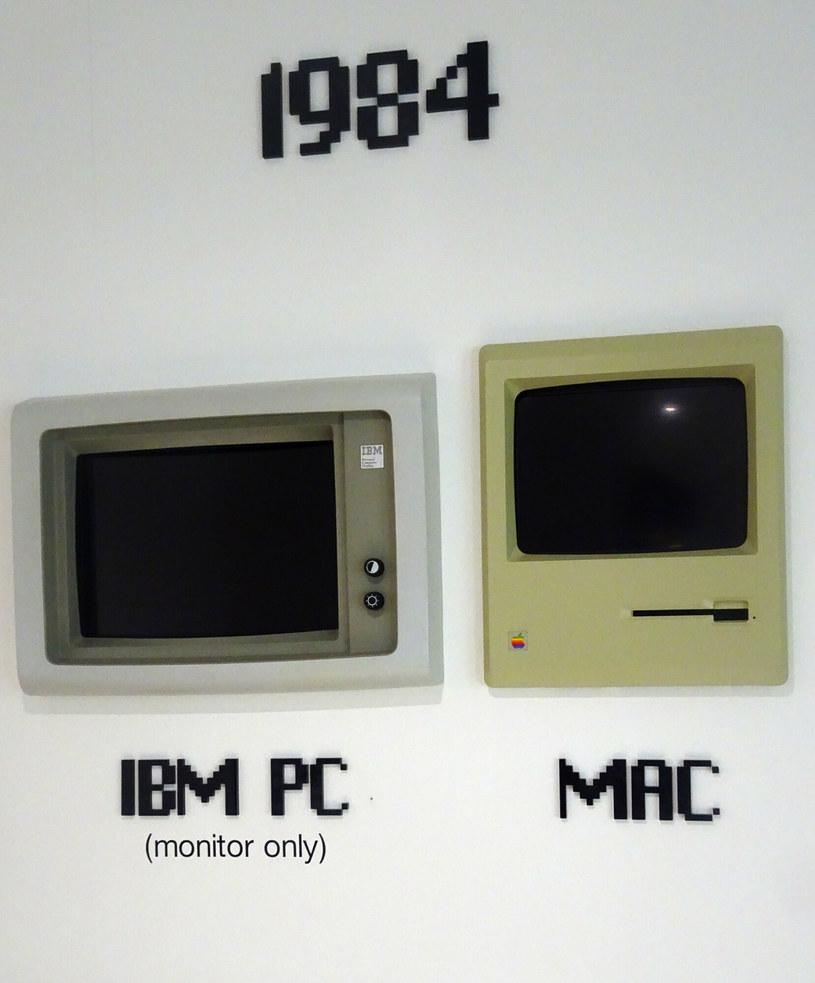 Macintosh firmy Apple miał swoją premierę w 1984 roku /East News