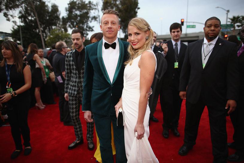 Macklemore z żona Tricią /Christopher Polk /Getty Images