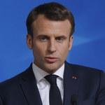 Macron: Główne niebezpieczeństwo dla naszego kraju wyeliminowane