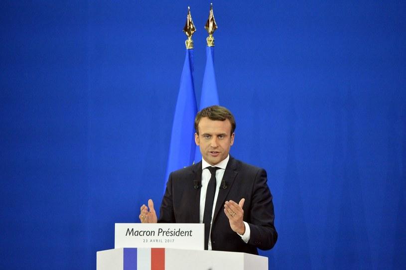 """Macron podkreślił, że w ciągu trzech miesięcy po wybraniu go na prezydenta """"podjęta zostanie decyzja w sprawie Polski"""" /Jose Rodriguez Xinhua /East News"""
