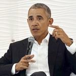 Macron przyjął Obamę w Pałacu Elizejskim