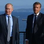 Macron: Przywrócenie Rosji do G8 zależy od sytuacji na Ukrainie