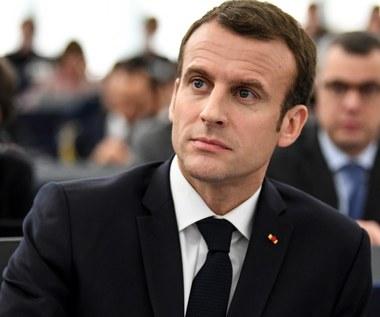Macron: W pełni rozumiem obawy dotyczące Nord Stream 2