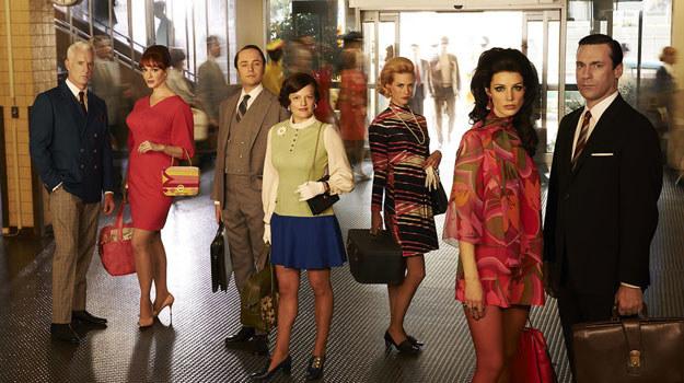 """""""Mad Men"""" to serial opowiadający o losach Dona Drapera, dyrektora kreatywnego w agencji reklamowej Sterling Cooper i jego współpracownikach /materiały prasowe"""