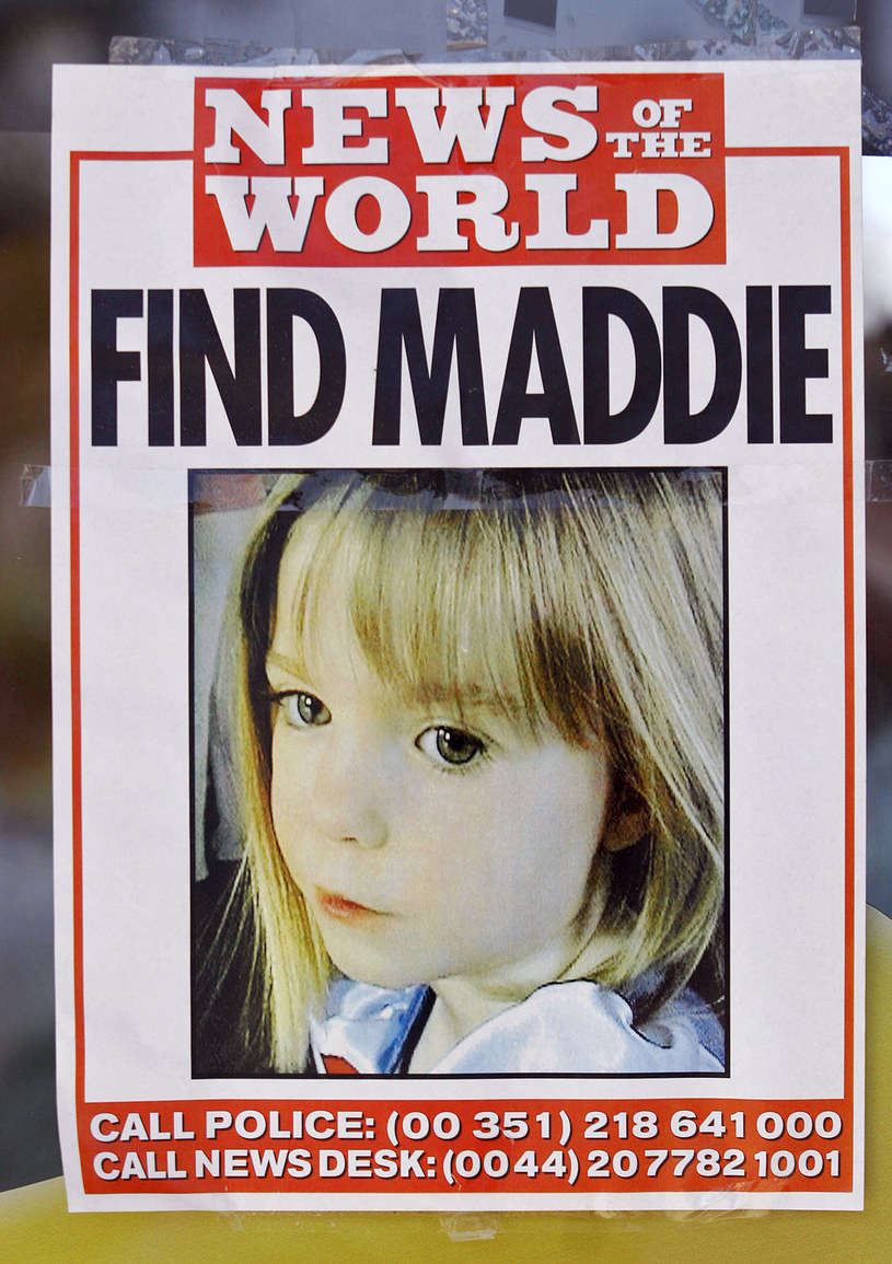 Madeleine McCann /MELANIE MAPS  /AFP
