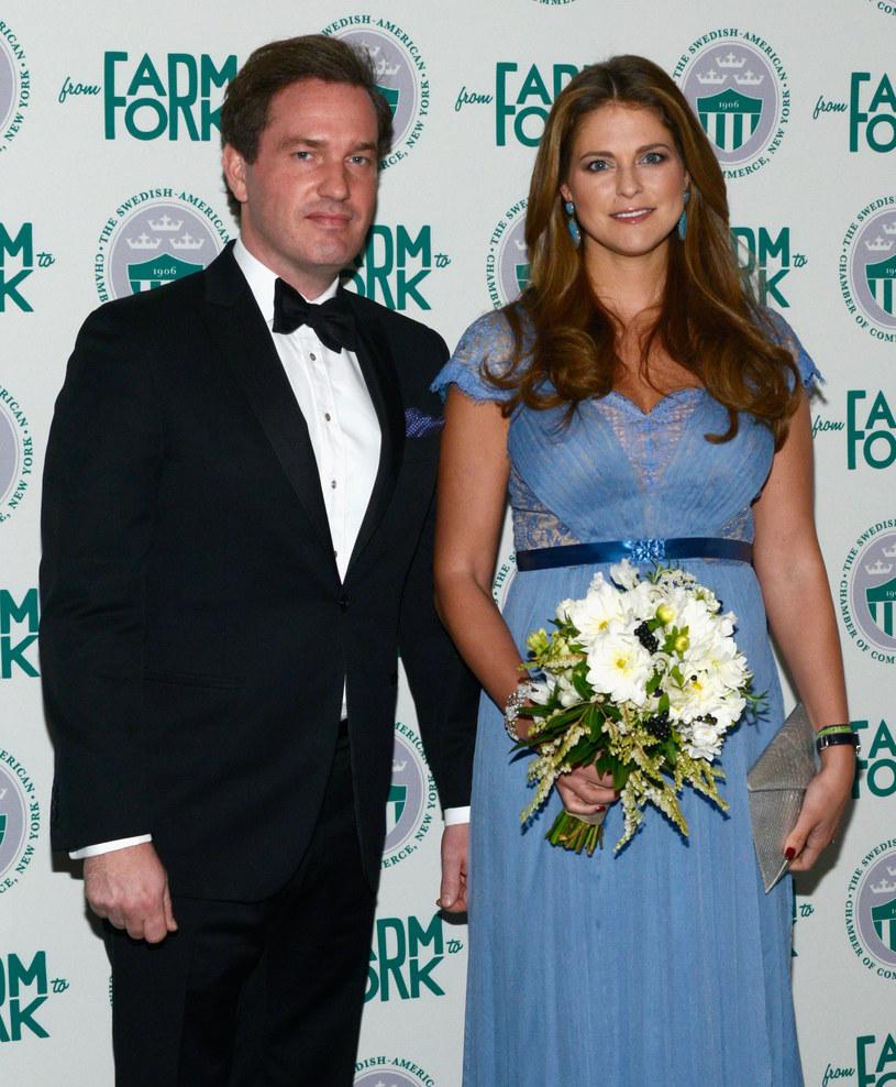 Madeleine z mężem /- /Getty Images