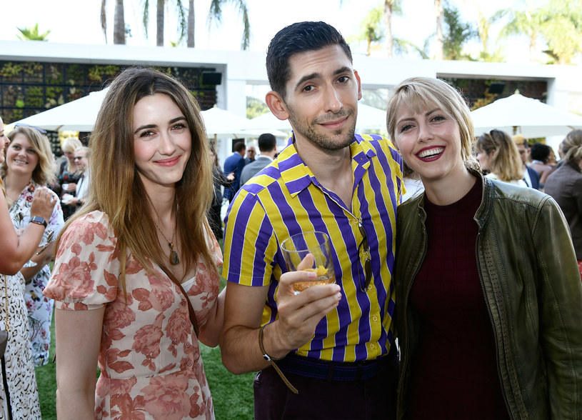 Madeline Zima, Max Landis i Yvonne Zima / Frazer Harrison/BAFTA LA /Getty Images