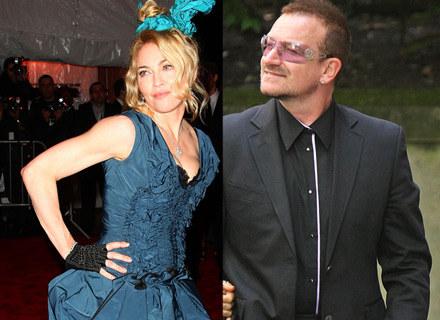 Madonna, Bono - fot. Larry Busacca/Dan Kitwood /Getty Images/Flash Press Media