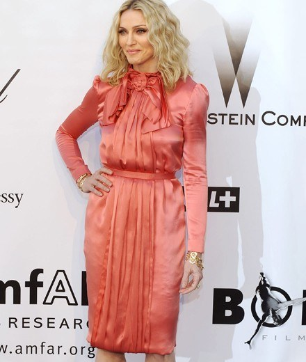 Madonna, Cannes 22 maja /AFP