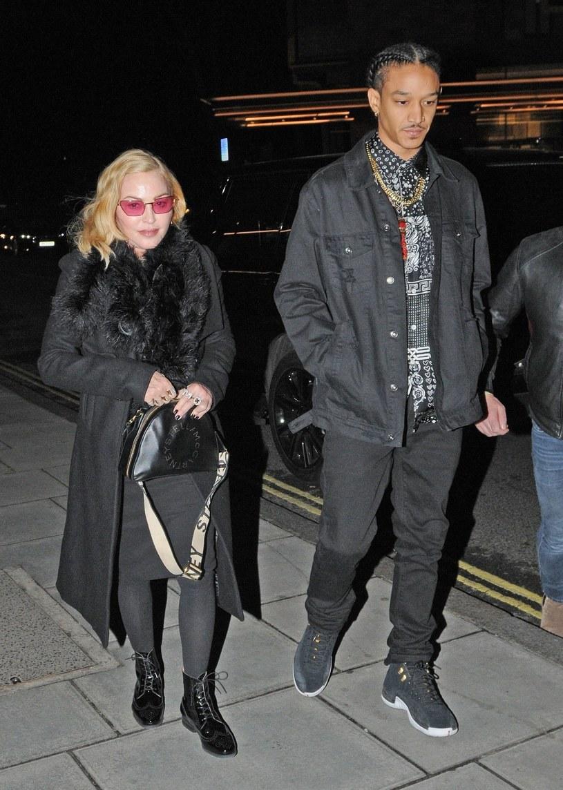 Madonna i Ahlamalik Williams /BACKGRID /Agencja FORUM