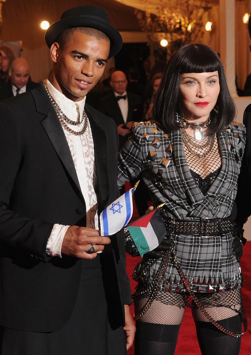 Madonna i Brahim Zaibat /Dimitrios Kambouris /Getty Images