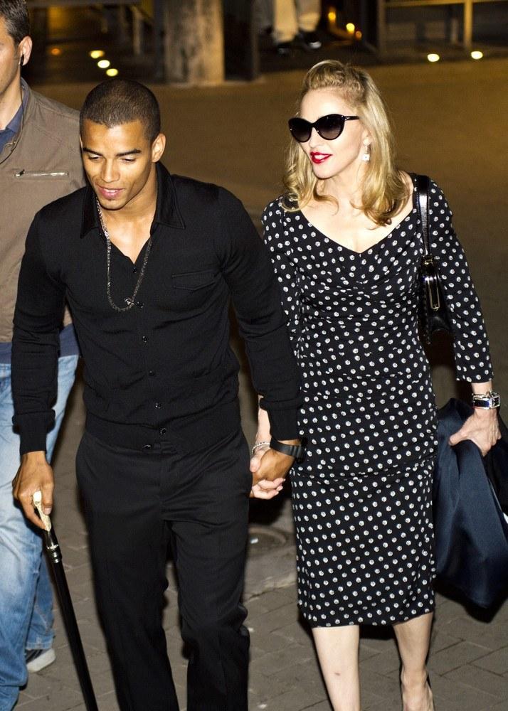 Madonna i Brahim /- /East News