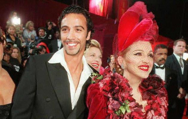 Madonna i Carlos Leon w 1996 roku