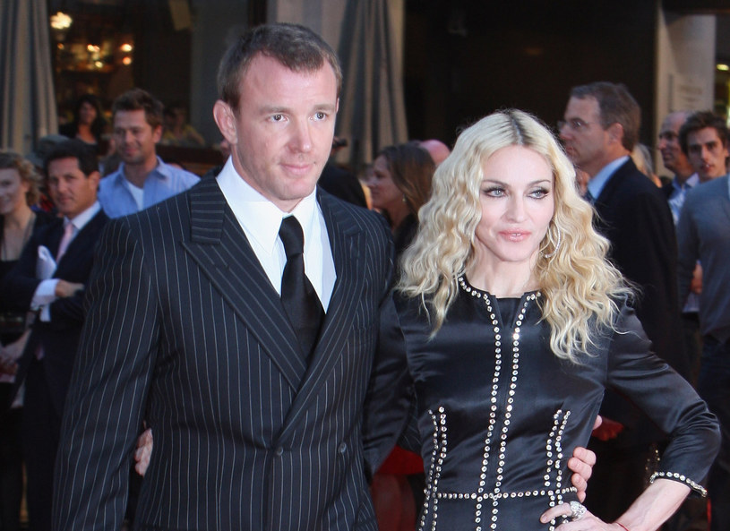 Madonna i Guy Ritchie /Getty Images