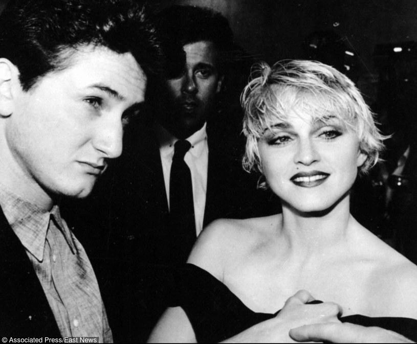 Madonna i Sean Penn byli małżeństwem przez 4 lata! /- /East News