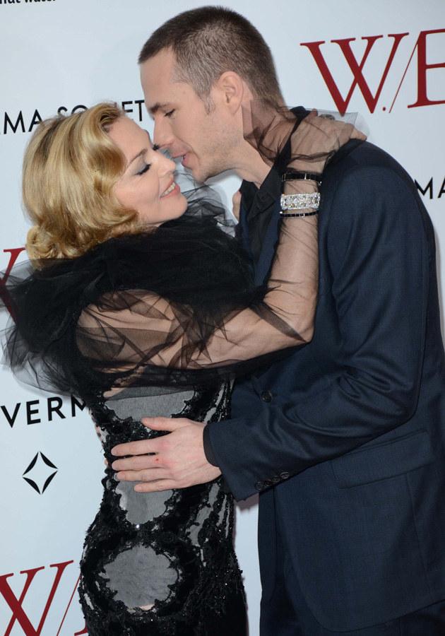 Madonna, James D'Arcy /Splashnews