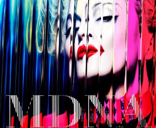 """Madonna na okładce albumu """"MDNA"""" /"""