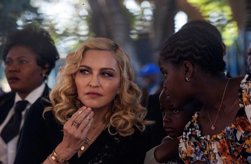 Madonna na otwarciu szpitala w Malawi /AFP