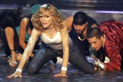 Madonna odciska swoje dłonie nie tylko na Placu Sławy /arch. AFP