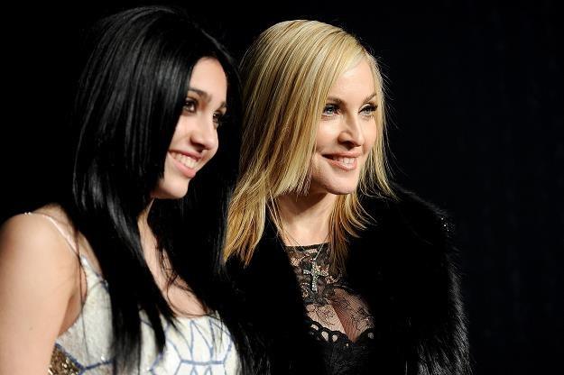 Madonna pilnuje nastoletniej córki fot. Pascal Le Segretain /Getty Images/Flash Press Media
