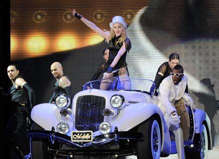 Madonna podczas jednego z koncertów ostatniej trasy - fot. Gustavo Caballero /Getty Images/Flash Press Media