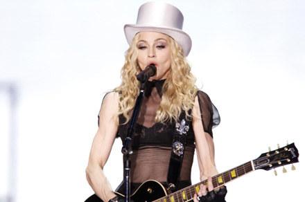 Madonna podczas koncertu na Wembley /Getty Images/Flash Press Media