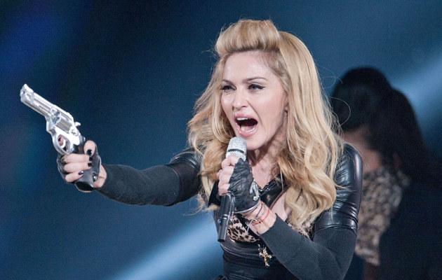 Madonna podczas trasy koncertowej /AFP