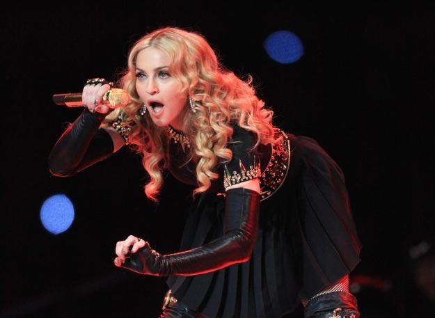 Madonna podczas występu na Super Bowl - fot. Christopher Polk /Getty Images/Flash Press Media