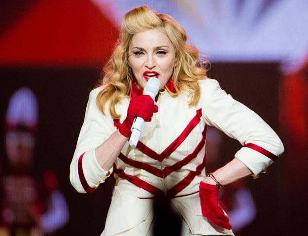 "Madonna popiera ""czarnoskórego muzułmanina w Białym Domu"" fot. Jeff Fusco /Getty Images/Flash Press Media"