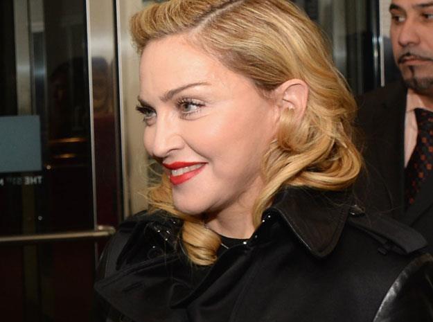 Madonna pracuje nawet podczas seansów filmowych fot. Dimitrios Kambouris /Getty Images/Flash Press Media
