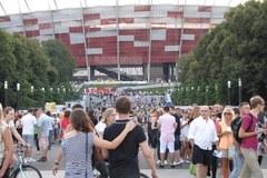 Madonna przyciagnęła do Warszawy tłumy fanów