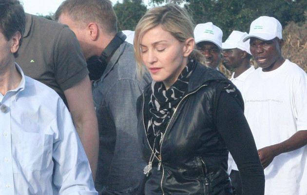 Madonna w Malawi  /Splashnews