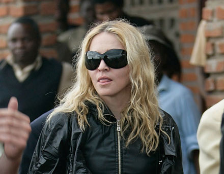 Madonna w Malawi fot. Michelly Rall /Getty Images/Flash Press Media
