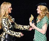 Madonna w wielu sprawach inspiruje Britney Spears /AFP